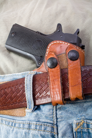 concealed leather holster