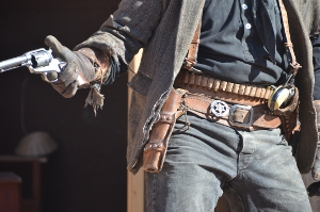 cowboy leather holster